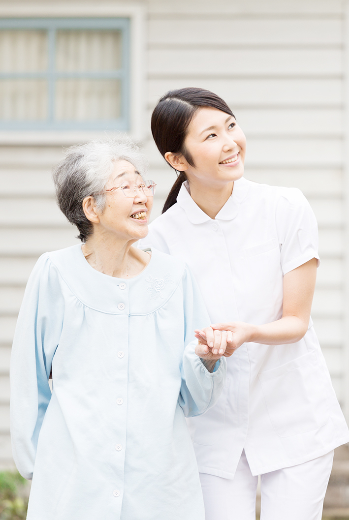 Community medicine built with trust and love. 信頼と愛とで築く地域医療